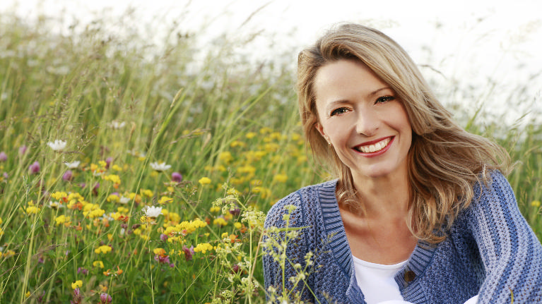 Older Woman Smiling | Alpharetta Creek Restorative Dentistry