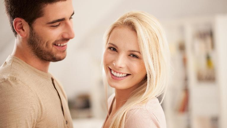 Couple Smiling Together | Alpharetta Creek Restorative Dentistry